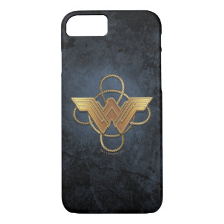 Wonder Woman Gold Symbol Over Lasso iPhone 8/7 Case