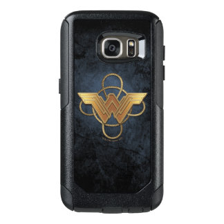 Wonder Woman Gold Symbol Over Lasso OtterBox Samsung Galaxy S7 Case