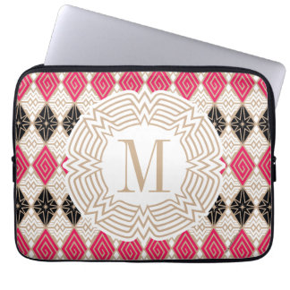 Wonder Woman Greek Pattern Laptop Sleeve