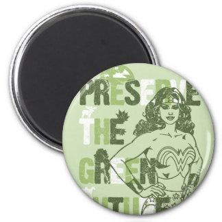 Wonder Woman Green Future Magnet
