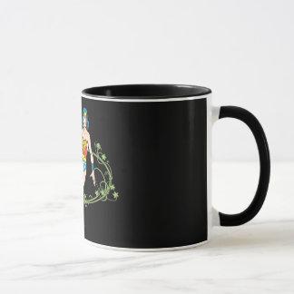 Wonder Woman Green Vines Mug