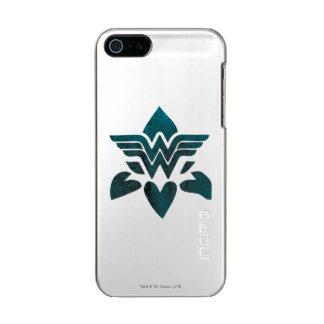 Wonder Woman Grunge Logo Incipio Feather® Shine iPhone 5 Case