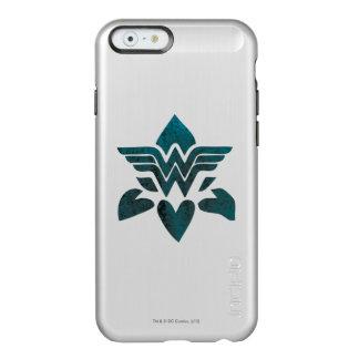 Wonder Woman Grunge Logo Incipio Feather® Shine iPhone 6 Case