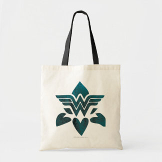 Wonder Woman Grunge Logo Tote Bag