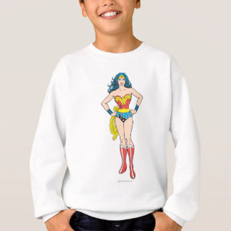 Wonder Woman Hands on Hips Sweatshirt
