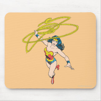 Wonder Woman Holds Lasso 2 Mouse Pad