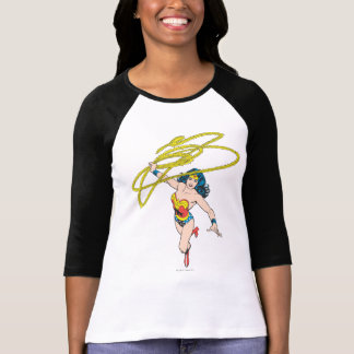 Wonder Woman Holds Lasso 2 T-Shirt