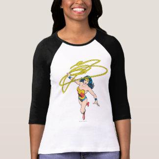 Wonder Woman Holds Lasso 2 T-Shirt