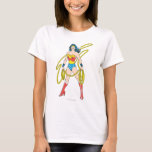 Wonder Woman Holds Lasso 5 T-Shirt