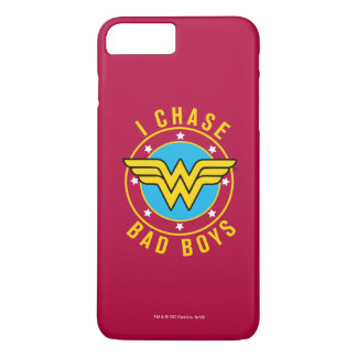Wonder Woman - I Chase Bad Boys iPhone 7 Plus Case
