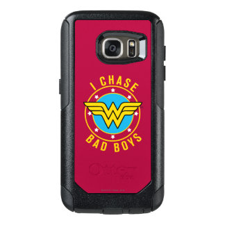 Wonder Woman - I Chase Bad Boys OtterBox Samsung Galaxy S7 Case