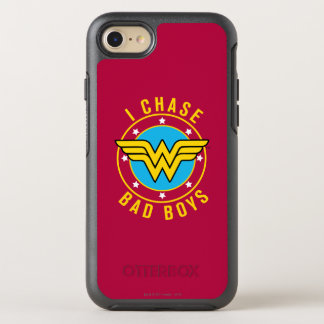Wonder Woman - I Chase Bad Boys OtterBox Symmetry iPhone 8/7 Case