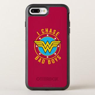 Wonder Woman - I Chase Bad Boys OtterBox Symmetry iPhone 8 Plus/7 Plus Case