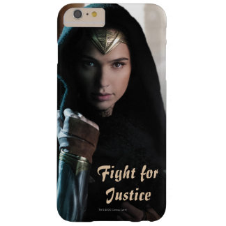Wonder Woman in Cloak Barely There iPhone 6 Plus Case