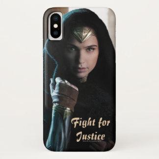 Wonder Woman in Cloak iPhone X Case