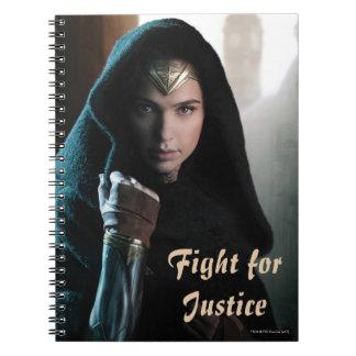 Wonder Woman in Cloak Notebooks