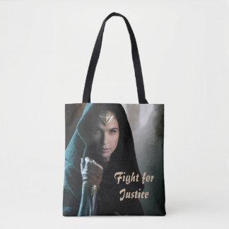 Wonder Woman in Cloak Tote Bag