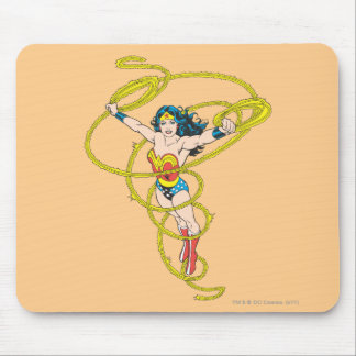 Wonder Woman in Lasso Mouse Mat