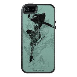 Wonder Woman Landing Foliage Graphic OtterBox iPhone 5/5s/SE Case
