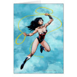 Wonder Woman & Lasso of Truth Greeting Card