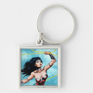 Wonder Woman & Lasso of Truth Key Ring