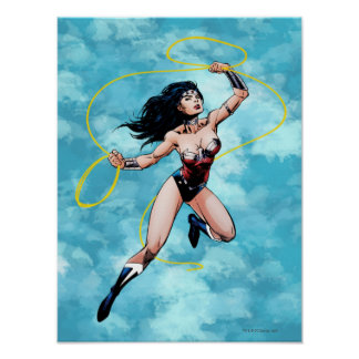 Wonder Woman & Lasso of Truth Poster