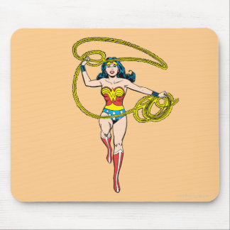 Wonder Woman Lasso over Head Mouse Pad