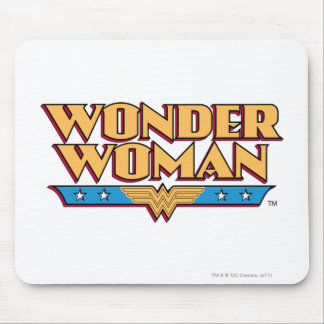 Wonder Woman Logo 2 Mouse Pad