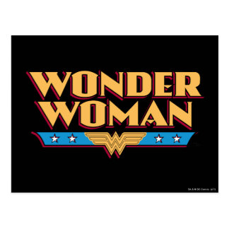 Wonder Woman Logo 2 Postcard