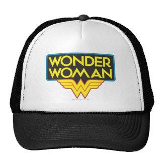 Wonder Woman Logo 3 Cap