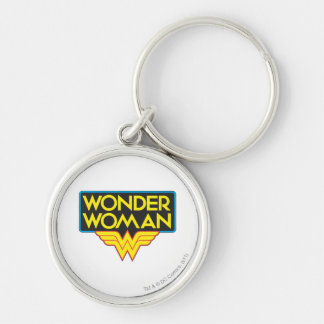 Wonder Woman Logo 3 Key Ring