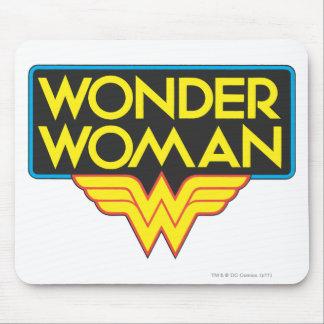 Wonder Woman Logo 3 Mouse Pad