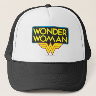 Wonder Woman Logo 3 Trucker Hat