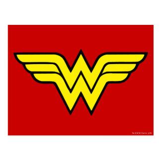 Wonder Woman Logo Postcard