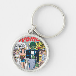 Wonder Woman Married a Monster Key Ring