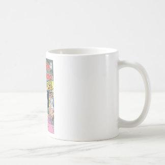 Wonder Woman Married a Monster Basic White Mug