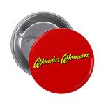 Wonder Woman Name 6 Cm Round Badge