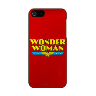 Wonder Woman Name and Logo Incipio Feather® Shine iPhone 5 Case