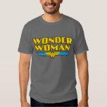 Wonder Woman Name and Logo Shirts