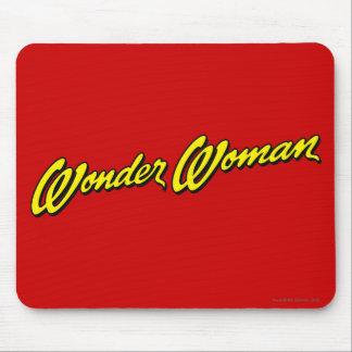 Wonder Woman Name Mouse Pad
