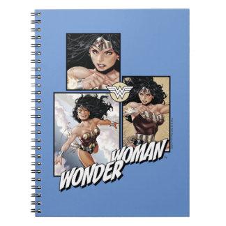 Wonder Woman New 52 Comic Art Graphic Notebooks