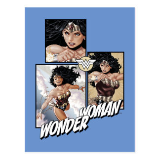 Wonder Woman New 52 Comic Art Graphic Postcard