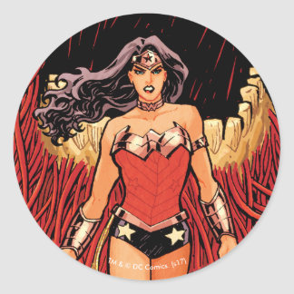 Wonder Woman New 52 Comic Cover #23 Classic Round Sticker