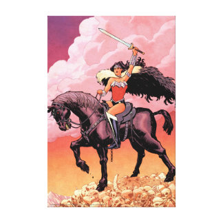 Wonder Woman New 52 Comic Cover #24 Canvas Print