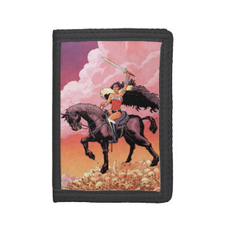 Wonder Woman New 52 Comic Cover #24 Trifold Wallet