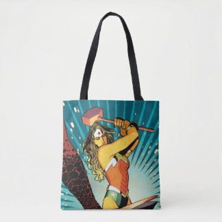 Wonder Woman New 52 Comic Cover #7 Tote Bag