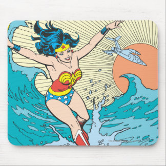 Wonder Woman Ocean Sky Mouse Mat