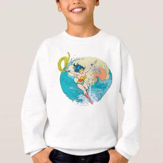 Wonder Woman Ocean Sky Sweatshirt