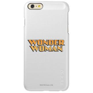 Wonder Woman Orange Logo iPhone 6 Plus Case
