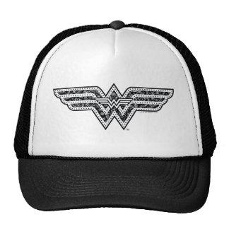 Wonder Woman Paisley Logo Cap